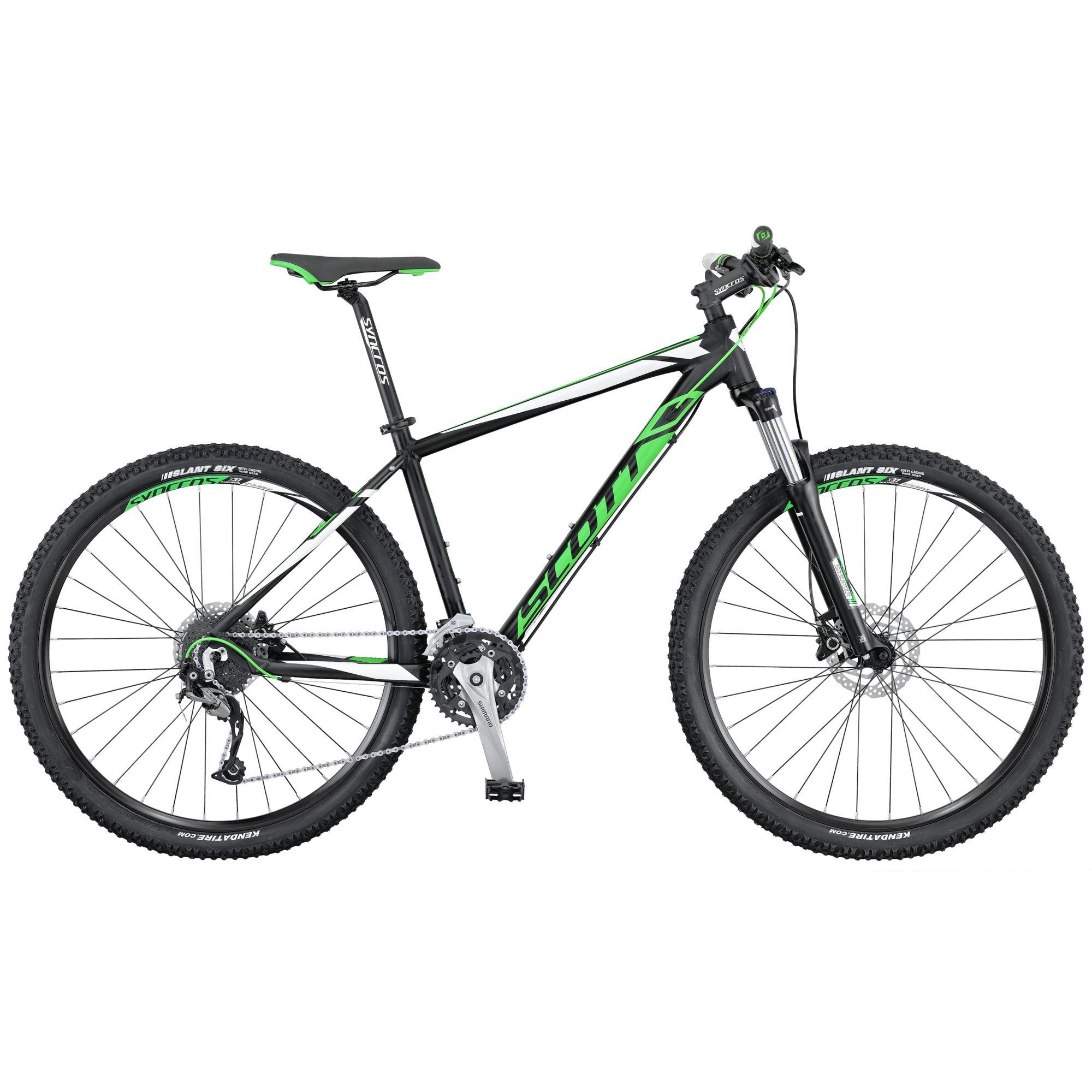 Велосипед ScottГорные<br>Если вы ищите качественный и долговечных горный велосипед для катания по лесным тропинкам и городским велодорожкам, то обратите внимание на Scott Aspect 740. Эта модель, оснащенная оборудованием высокого любительского уровня, способна стать верным другом для любителей велоспорта. Амортизационная вилка Suntour XCM-HLO оснащена функцией блокировки, что позволит вам сохранить силы при катании по ровным дорогам. Благодаря алюминиевой раме Scott Aspect 740 получился не только прочным, но и легким для своего класса велосипедов.<br><br>year: 2016<br>цвет: красный<br>пол: мужской<br>тип тормозов: дисковый гидравлический<br>диаметр колеса: 27.5<br>тип рамы: хардтейл<br>уровень оборудования: продвинутый<br>материал рамы: алюминий<br>тип амортизированной вилки: пружинно-масляная<br>длина хода вилки: от 100 до 150 мм<br>тип заднего амортизатора: без амортизатора<br>количество скоростей: 27<br>блокировка амортизатора: да<br>рулевая колонка: GW 1SI110 OE integ.<br>вынос: Syncros M3.0, HL-D507A<br>руль: Syncros M3.0, ширина 720 мм, подъем 12 мм, 31.8 мм, 9°<br>передний тормоз: Shimano BR-M355, SM-RT20 CL Rotor, диаметр ротора 160 мм<br>задний тормоз: Shimano BR-M355, SM-RT20 CL Rotor, диаметр ротора 160 мм<br>тормозные ручки: Shimano BL-M355<br>цепь: KMC X9<br>система: Shimano FC-M3000, 40x30x22T<br>каретка: Shimano BB-UN 26, Cartridge Type<br>педали: Wellgo M-141SDU<br>ободья: Syncros X-37 Disc, 32H<br>передняя втулка: Formula CL51<br>задняя втулка: Shimano FH-RM 33-CL<br>спицы: 14 G, stainless<br>передняя покрышка: Kenda Slant 6, 30TPI, 27.5 x 2.1<br>задняя покрышка: Kenda Slant 6, 30TPI, 27.5 x 2.1<br>седло: Syncros M2.5<br>подседельный штырь: Syncros M3.0, 27.2mm<br>кассета: Shimano CS-HG200-9, 11-34T<br>передний переключатель: Shimano FD-M3000 / 31.8mm<br>задний переключатель: Shimano Alivio RD-M4000, 27 Speed<br>манетки: Shimano SL-M370-9R, R-fire plus<br>вес: 14.5 кг<br>рама: Aspect 700 series, Alloy 6061 Performance geometry, Internal cable routing