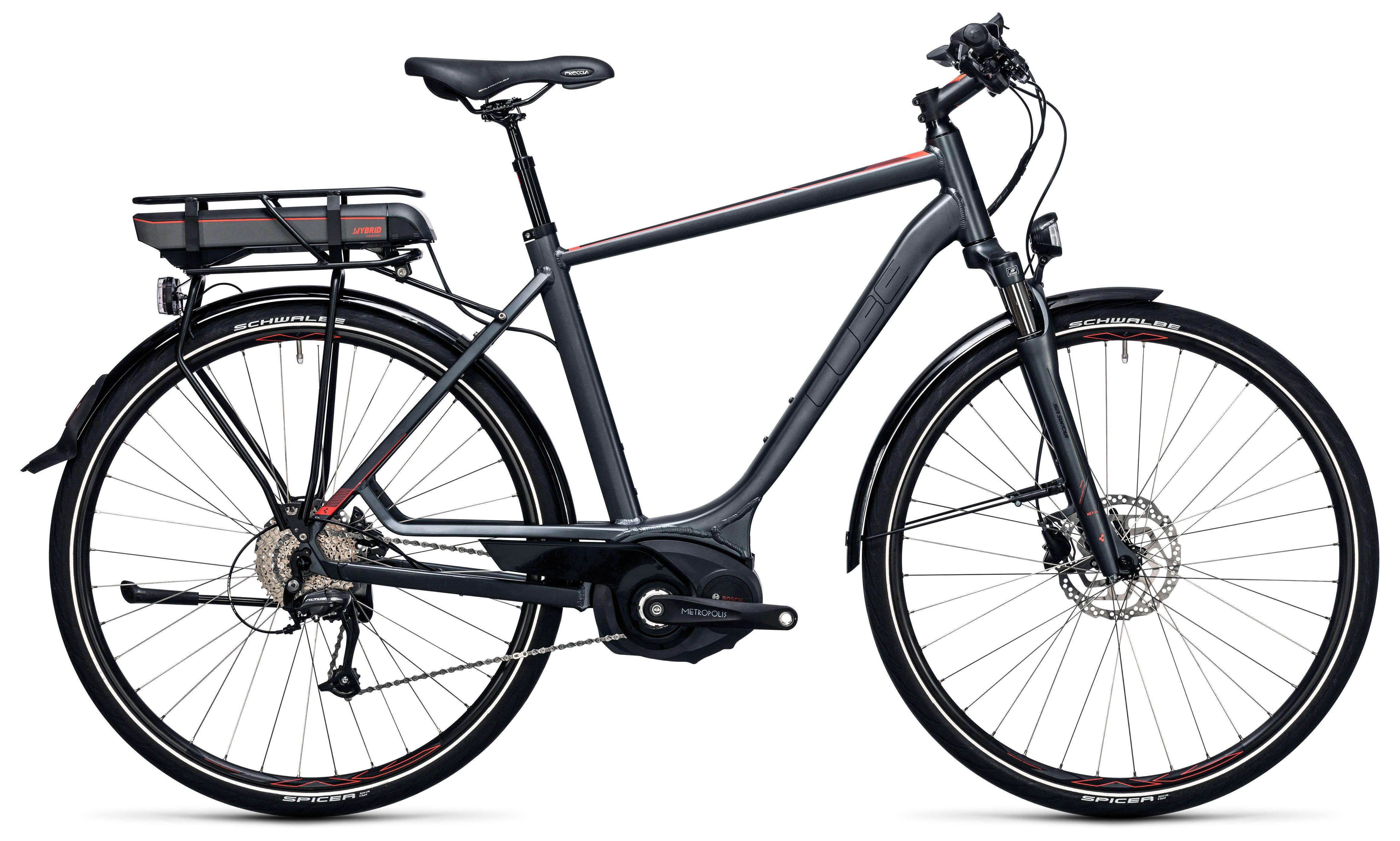 Велосипед Cube Touring Hybrid 400 2017,  Электро  - артикул:274328