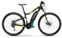 Trail / эндуро / all mountain двухподвесный велосипед  Haibike  Sduro HardNine 5.0 400Wh 20-Sp Deore  2017