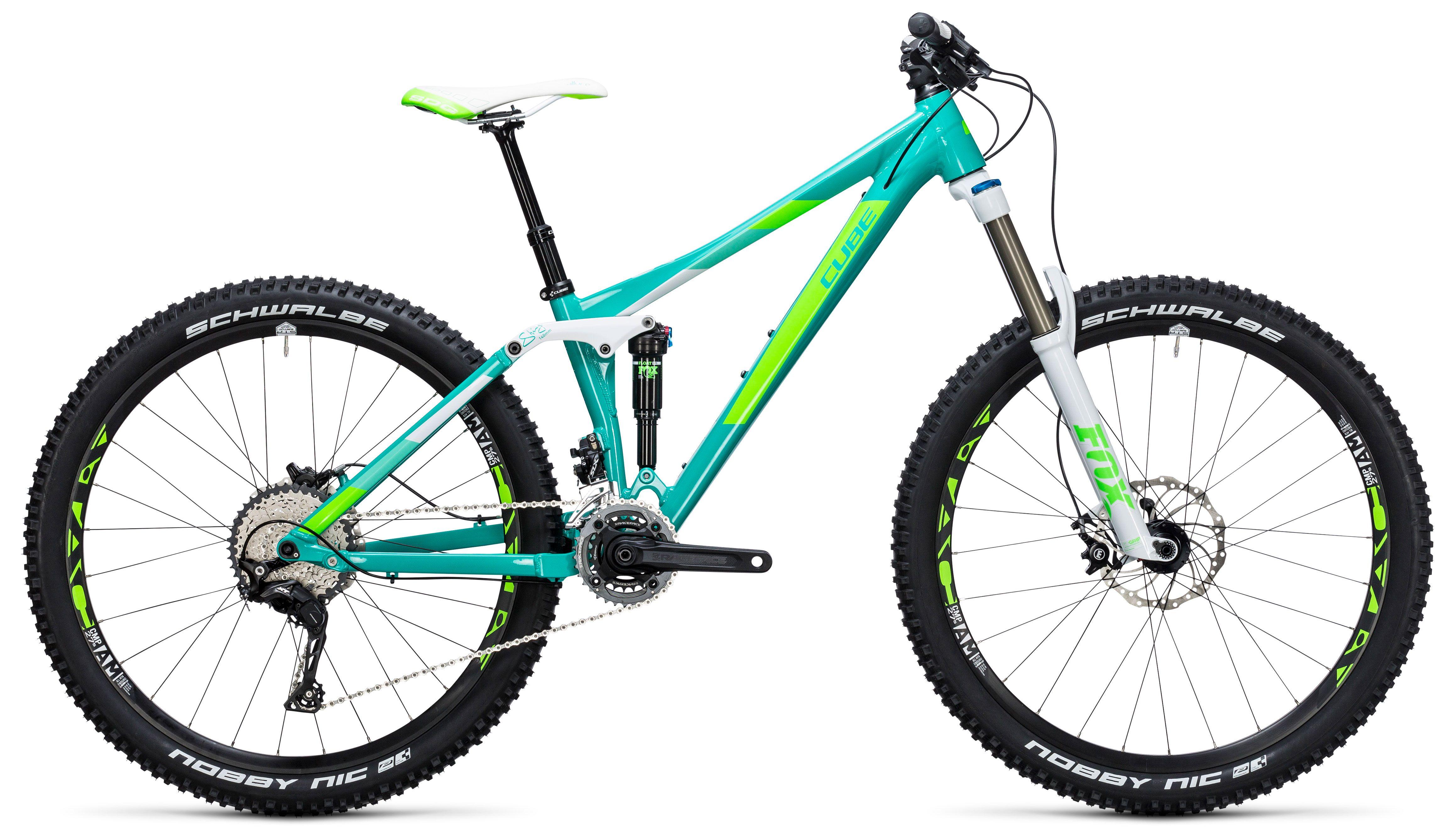 Велосипед Cube Sting WLS 140 Race 27.5 2X 2017