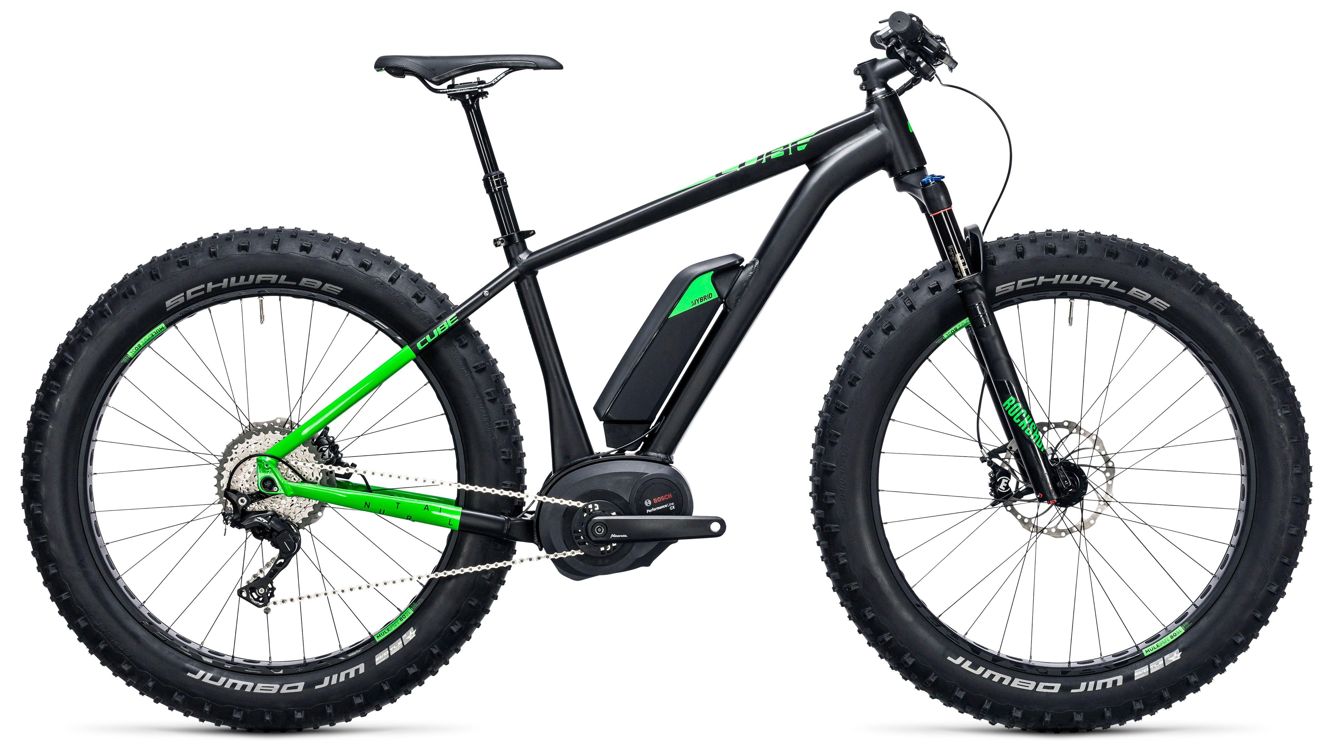 Велосипед Cube Nutrail Hybrid 500 2017,  Фэтбайки  - артикул:272891
