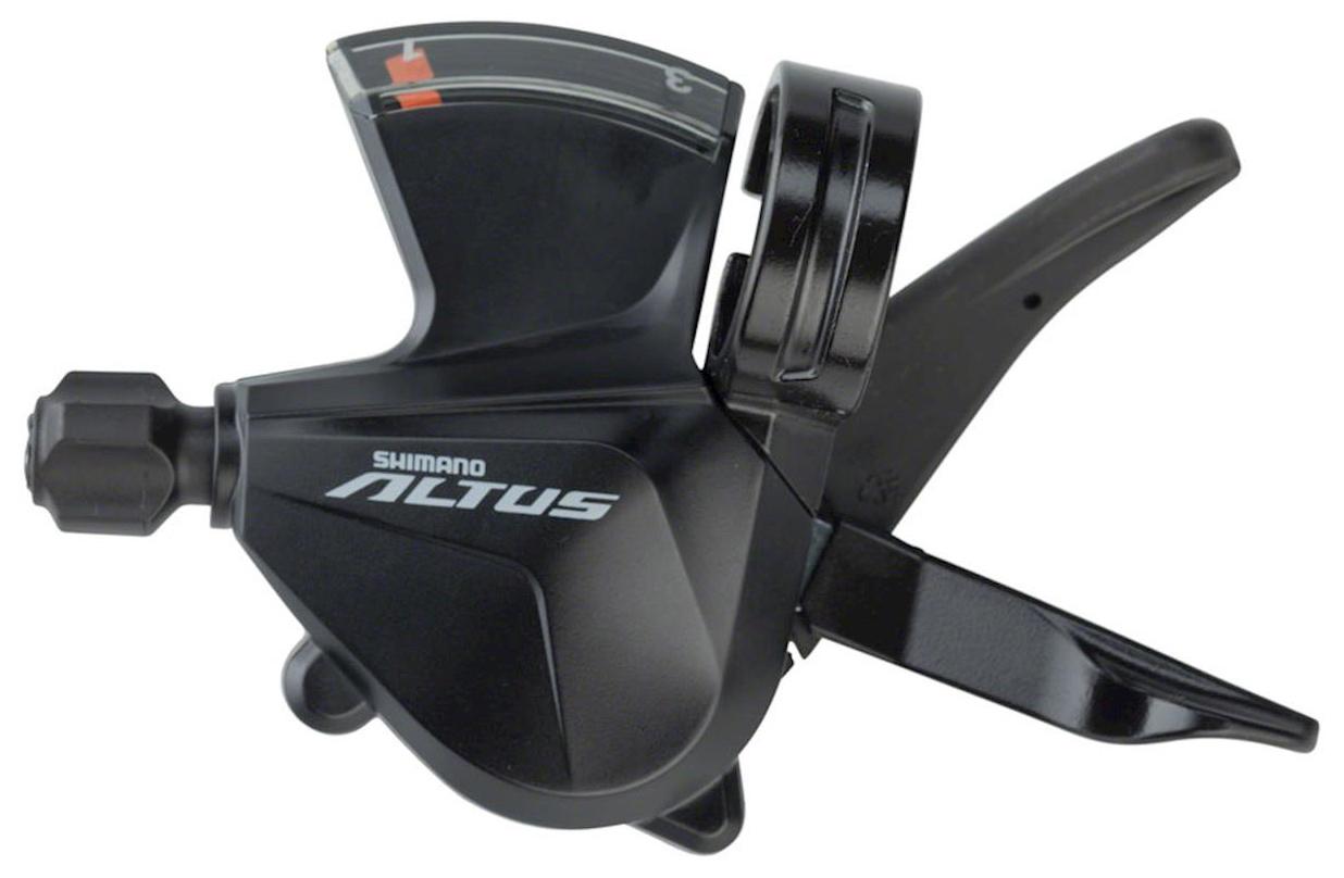 Запчасть Shimano Altus M2000, лев, 3ск (ESLM2000LB) система велосипедная shimano altus 21 24скорости 48 38 28 175мм черная efcm311e888xl 2 932 1