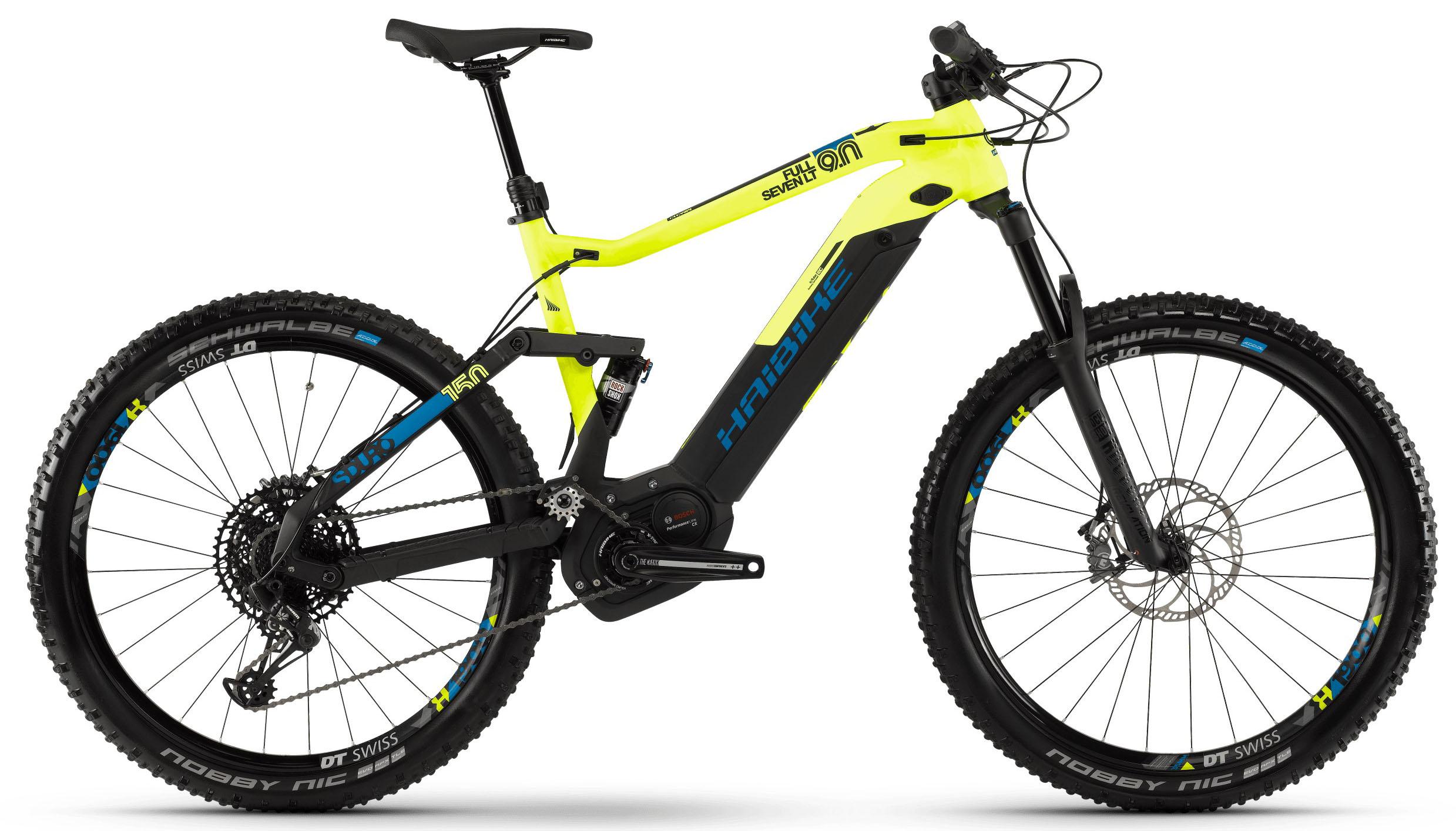 Велосипед Haibike SDURO FullSeven LT 9.0 i500Wh 12-G NX 2019 велосипед haibike xduro fullseven carbon 9 0 2018
