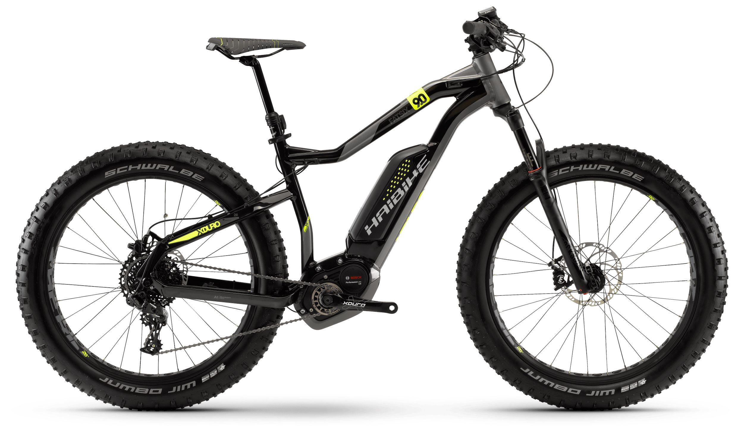 Велосипед Haibike Xduro FatSix 9.0 500Wh 11s NX 2018