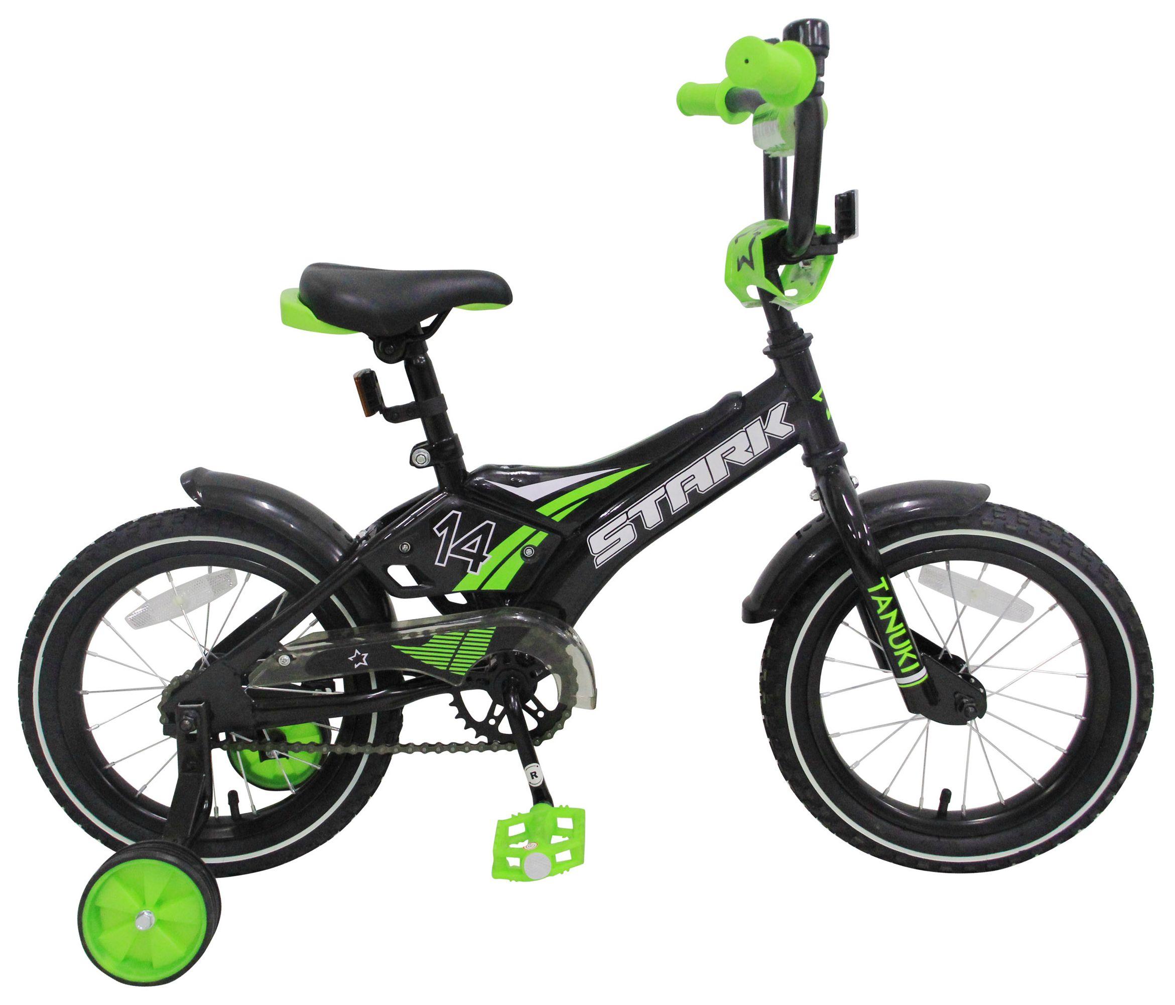 Велосипед Stark Tanuki 14 Boy ST 2017 велосипед stark tanuki 14 boy 2017