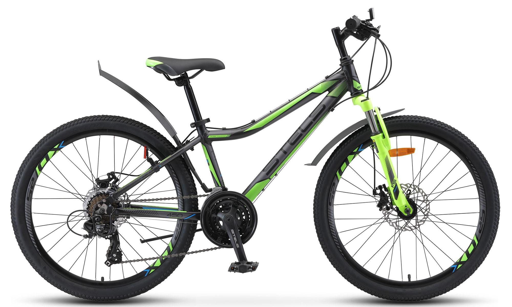 Велосипед Stels Navigator 450 MD 24 V020 2019 велосипед stels pilot 230 gent v020 2018