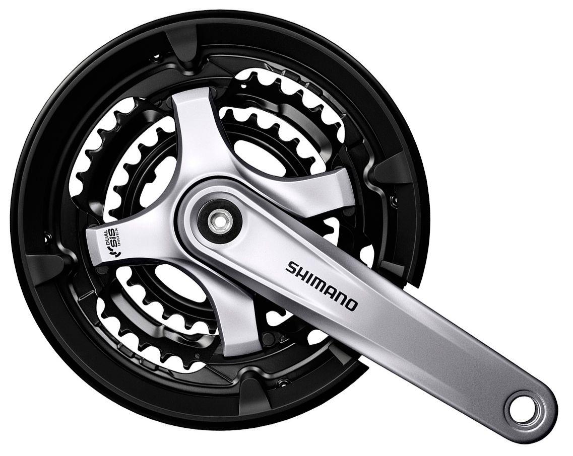 Запчасть Shimano Tourney TY701, 175 мм, 42/34/24 (EFCTY701E244CS1)