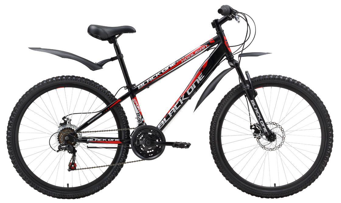 Велосипед Black One Hooligan Disc 2016 велосипед black one hooligan fs 26 d 2017 серо зеленый 16