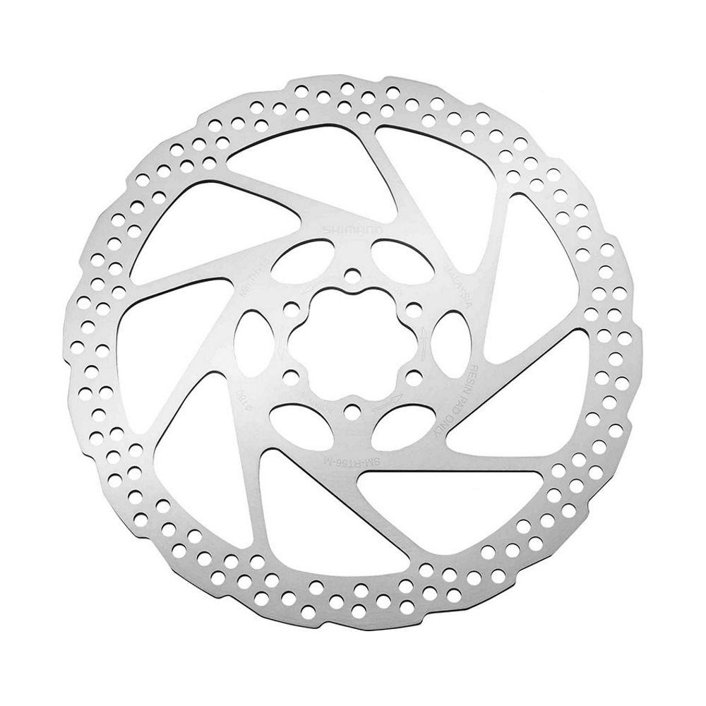 Запчасть Shimano RT56, 180мм (ESMRT56M) тормозной диск shimano slx rt70 180 мм