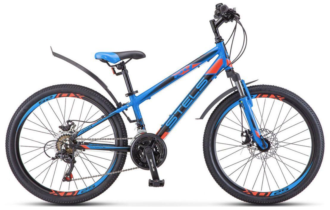 Велосипед Stels Navigator 450 MD 24 (V010) 2018 велосипед stels navigator 380 2016