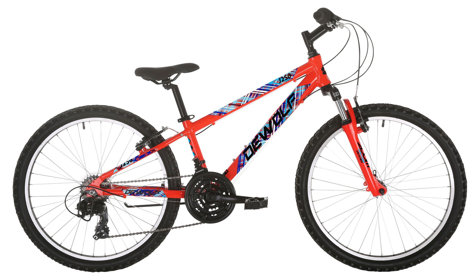 Велосипед Dewolf J250 Boy 2018