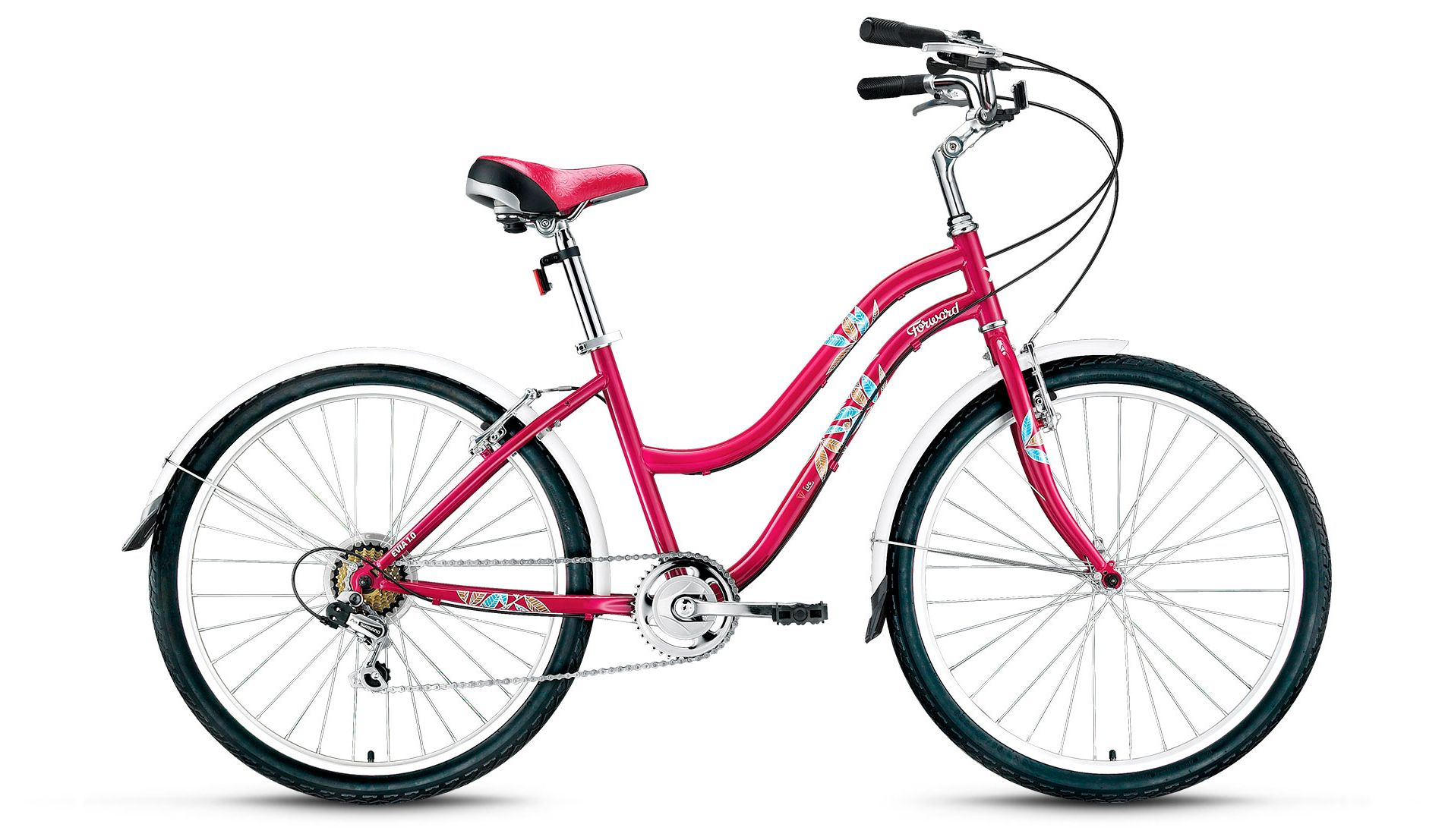 Велосипед Forward Evia 26 1.0 2017,  Женские  - артикул:279875