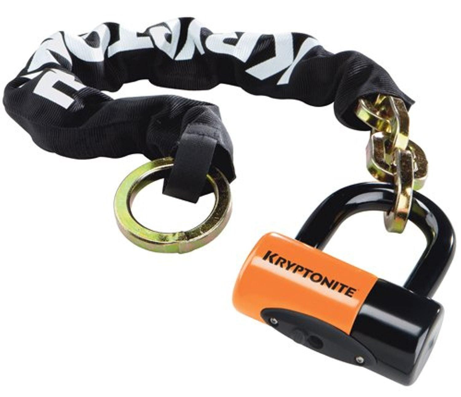 Аксессуар Kryptonite New York Noose 1275  (12 мм x 75 см) with EVS4 Disc 14 мм Shackle