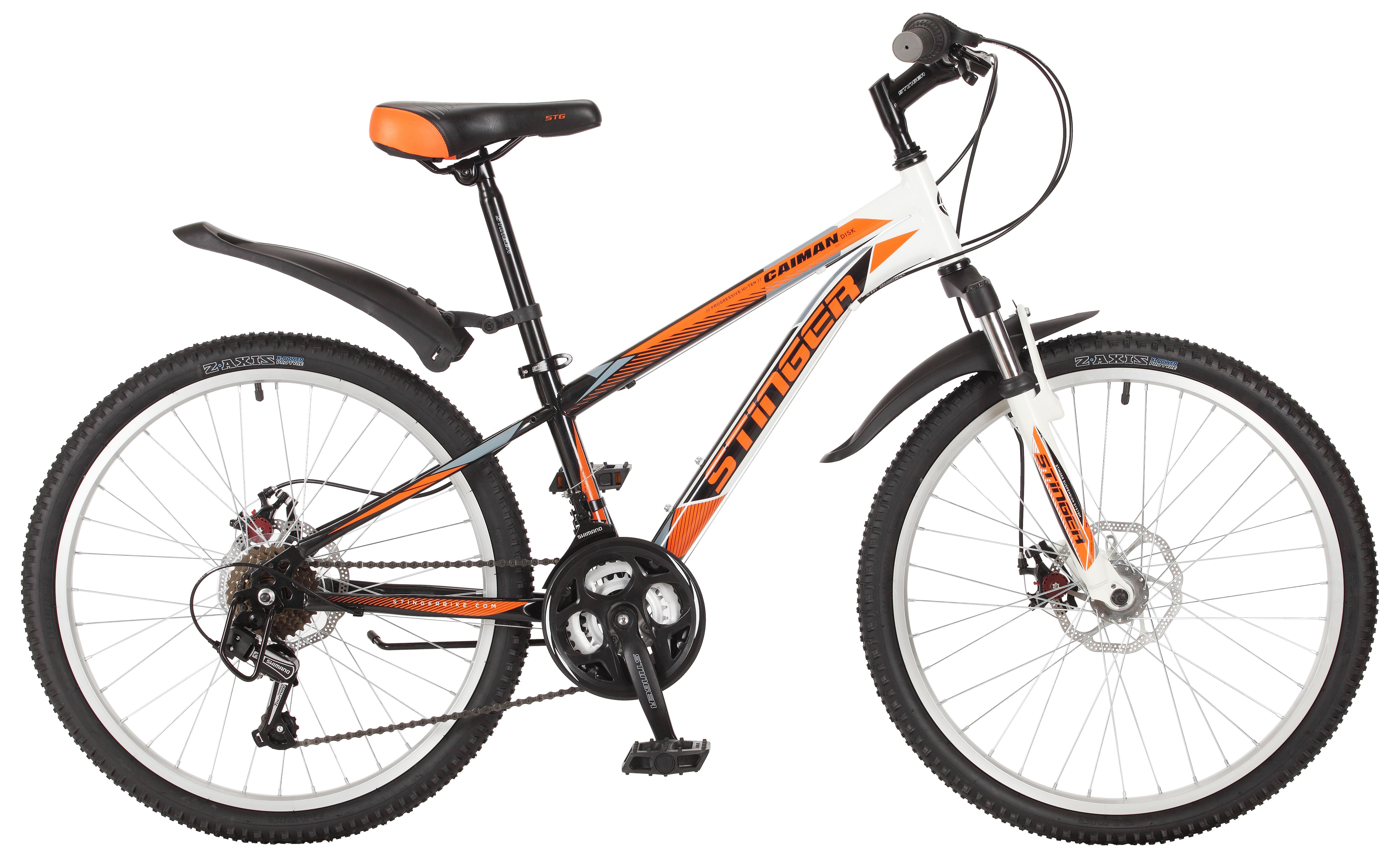 Велосипед Stinger Caiman D 24 2017 велосипед stinger caiman 26 2016