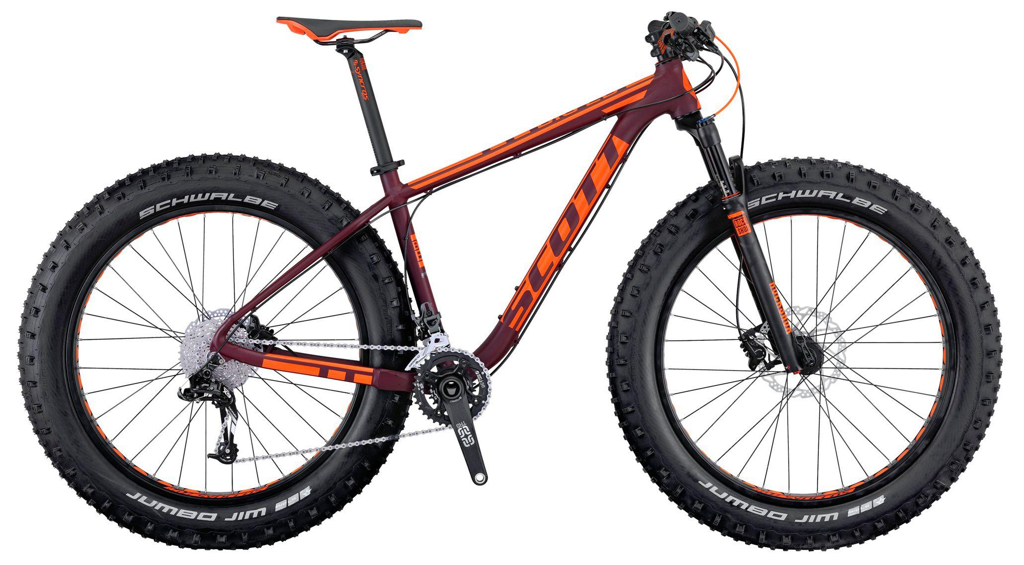 Велосипед Scott Big Ed 2016,  Фэтбайки  - артикул:264907