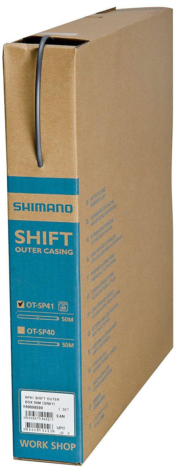 Запчасть Shimano оплетка для переключения SP41 (Y60098590) запчасть shimano трос оплетка переключения ot sp41 y63z98920