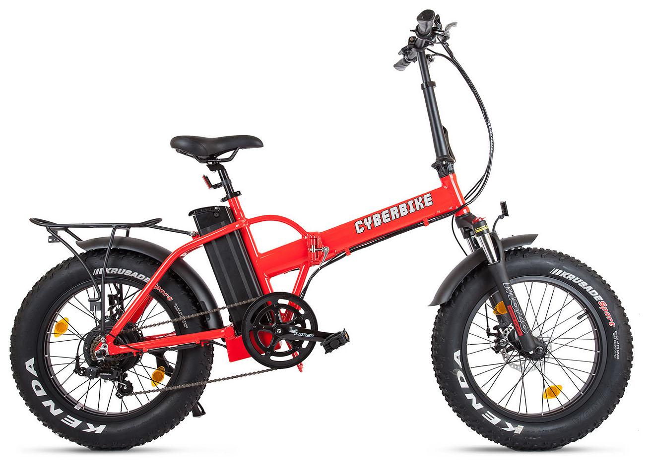 Велосипед Eltreco Cyberbike Fat 500W 2018 велосипед eltreco cyberbike fat 500w 2018