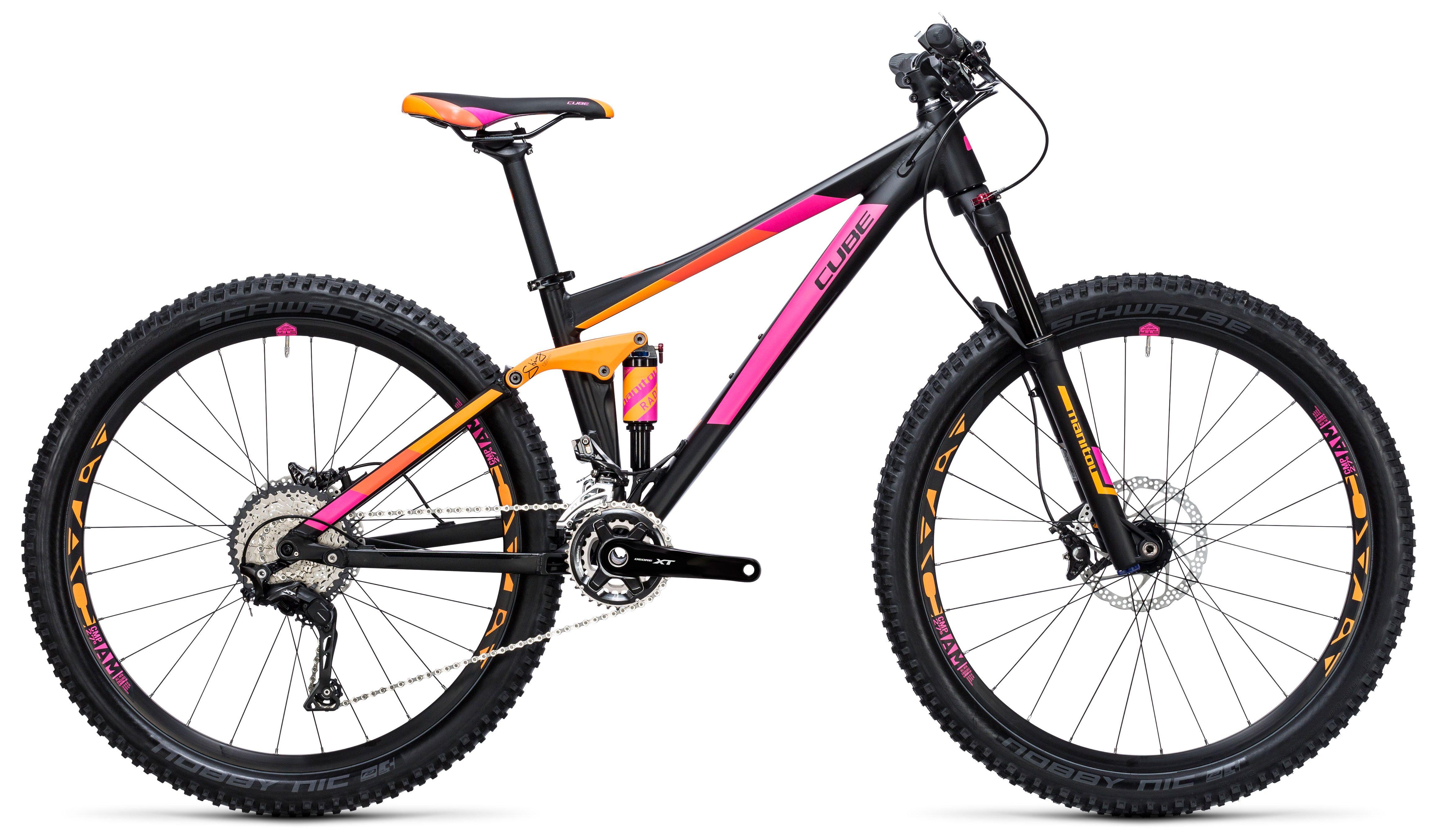 Велосипед Cube Sting WLS 120 PRO 2X 27.5 2017