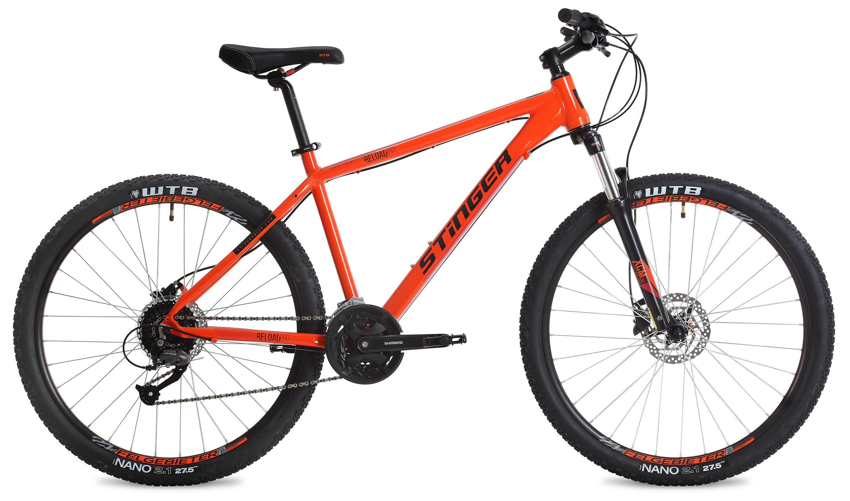 Велосипед Stinger Reload Pro 27,5 2018 велосипед stinger reload 26 pro рама 16 оранжевый