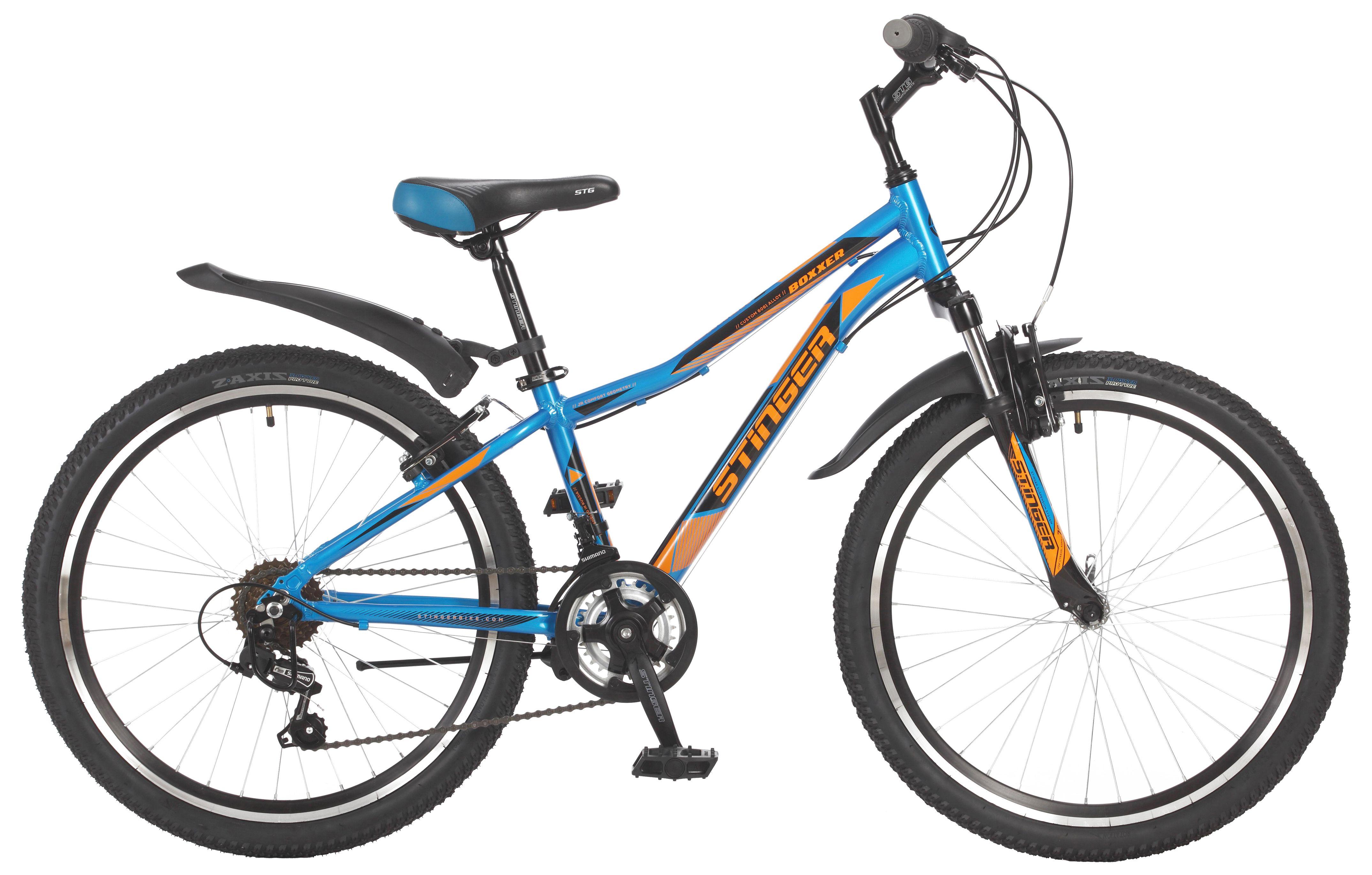 Велосипед Stinger Boxxer 24 2017 велосипед stinger galaxy 24 2016
