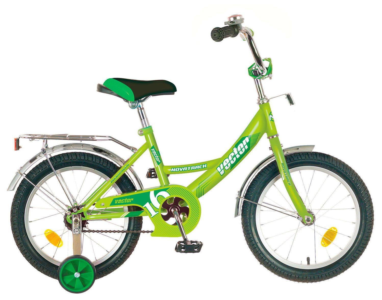 Велосипед Novatrack Vector 16 2018 novatrack novatrack велосипед vector 16 зеленый