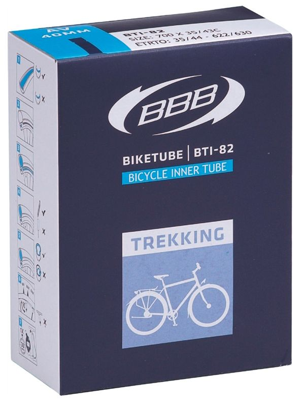 Запчасть BBB BTI-82 700x35-43C AV,  камеры и ободные ленты  - артикул:283024