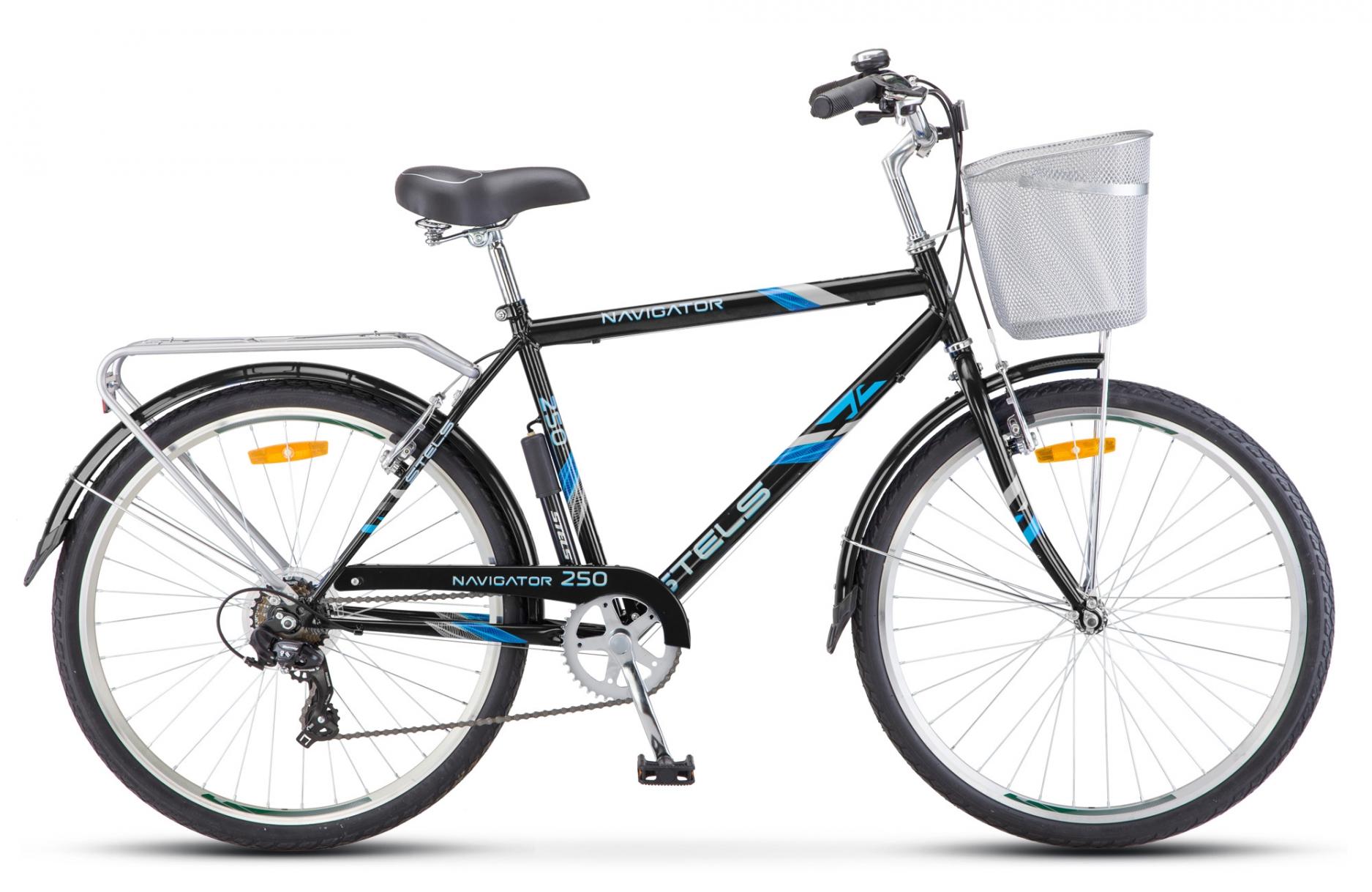 Велосипед Stels Navigator 250 Gent 26 Z010 2019 велосипед stels navigator 325 28 z010 2018