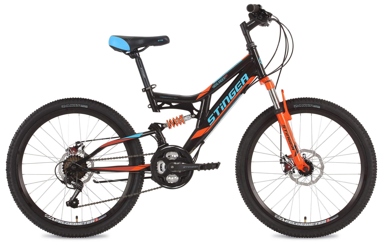 Велосипед Stinger Highlander D 24 2018 велосипед stinger highlander d 26 рама 16 оранжевый