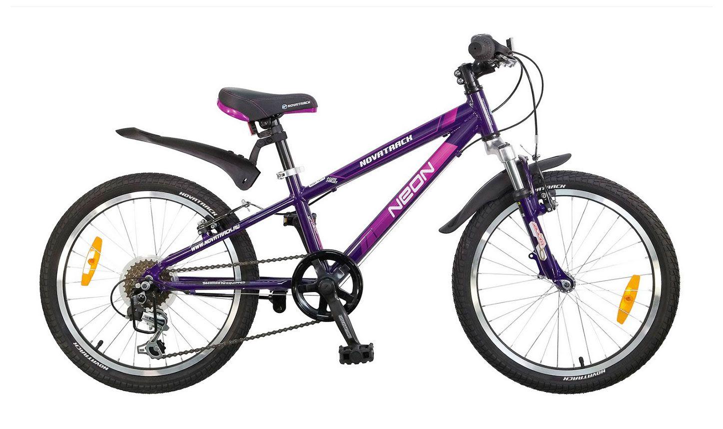 Велосипед Novatrack Neon 20 2015 2015 saat