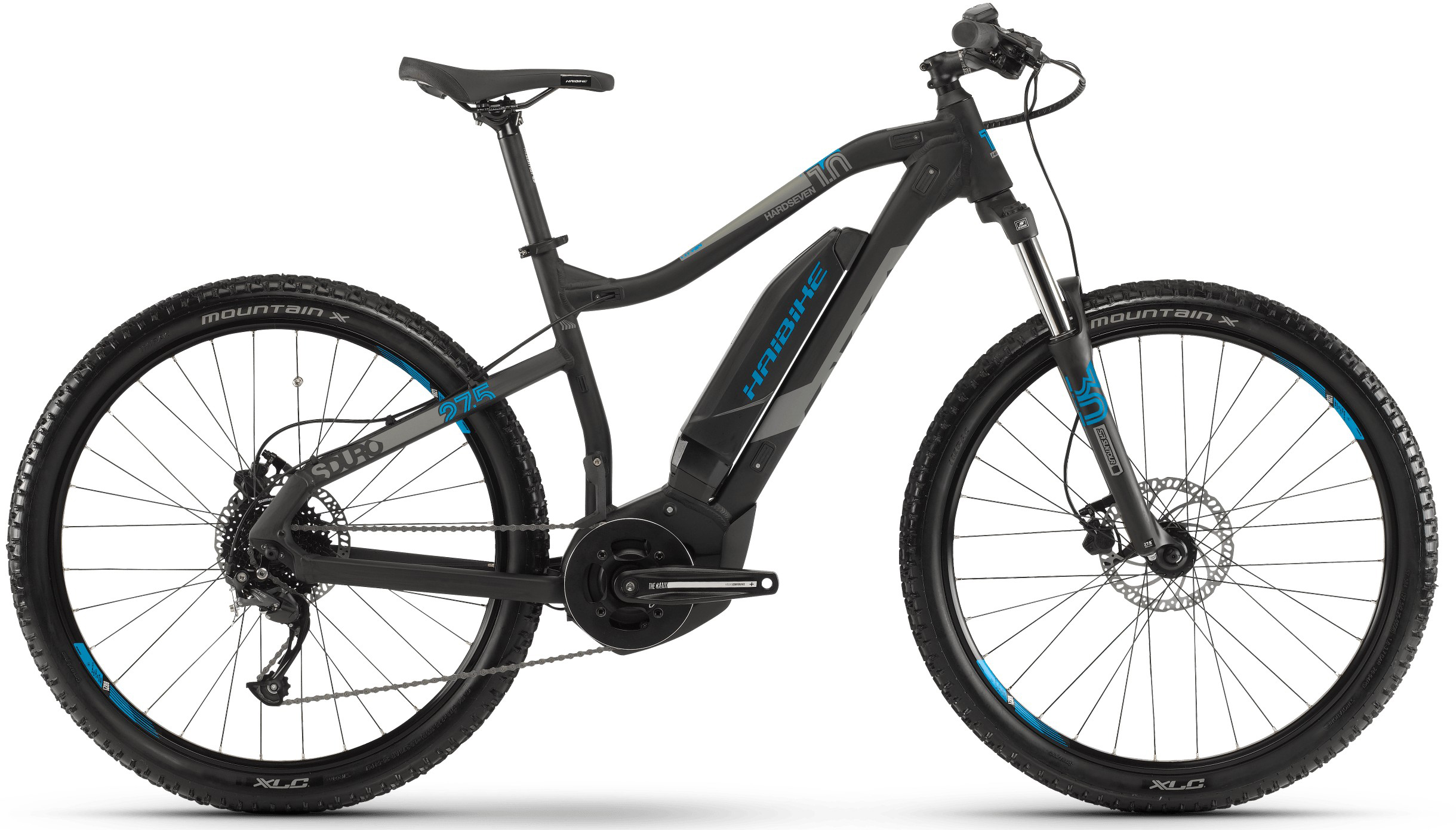 Велосипед Haibike SDURO HardSeven 1.0 400Wh 9-G Altus 2019 велосипед haibike sduro trekking 4 0 he 400wh 10s deore 2018
