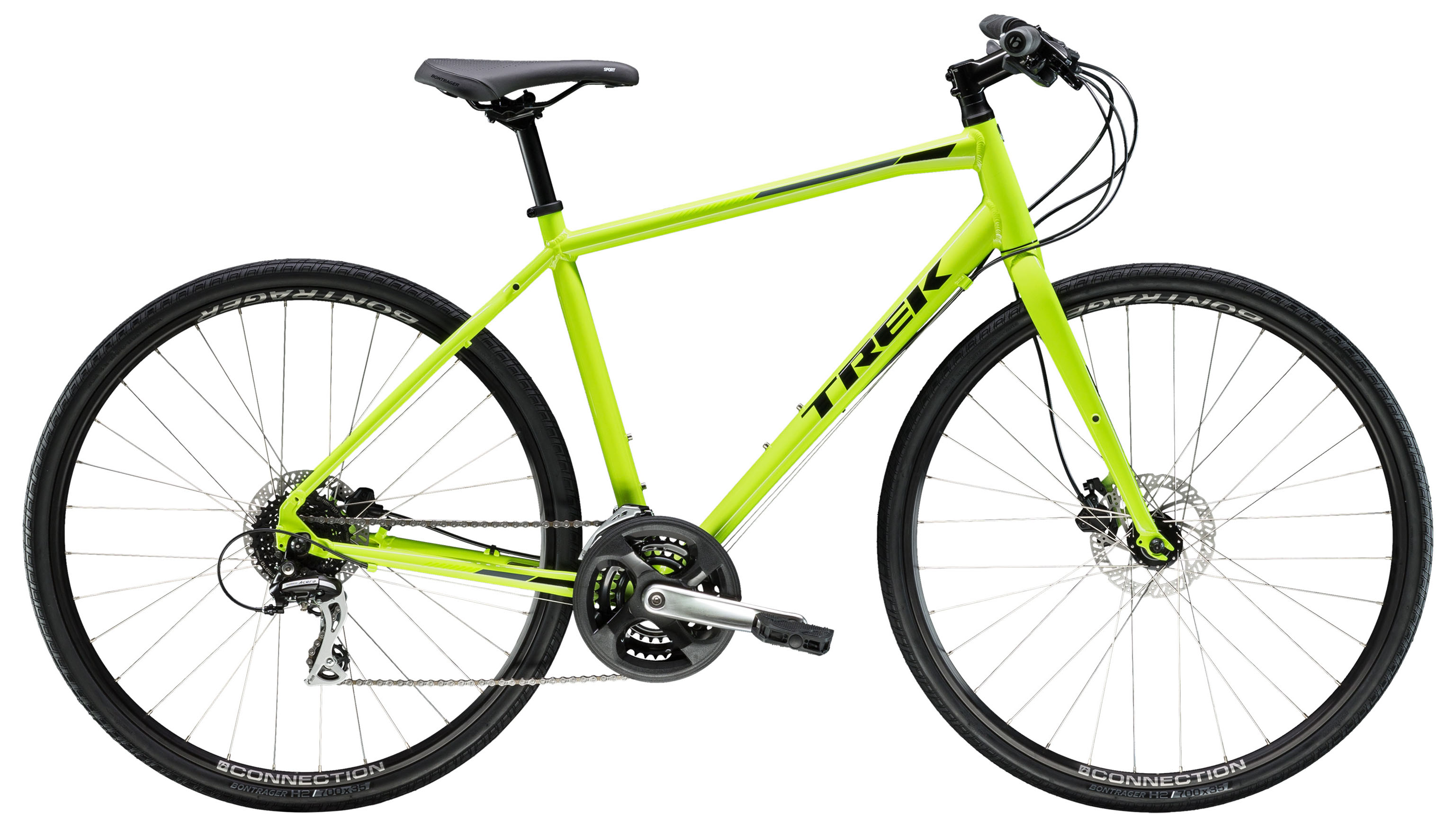 Велосипед Trek FX 2 Disc 2019 велосипед trek boone 9 disc 2015
