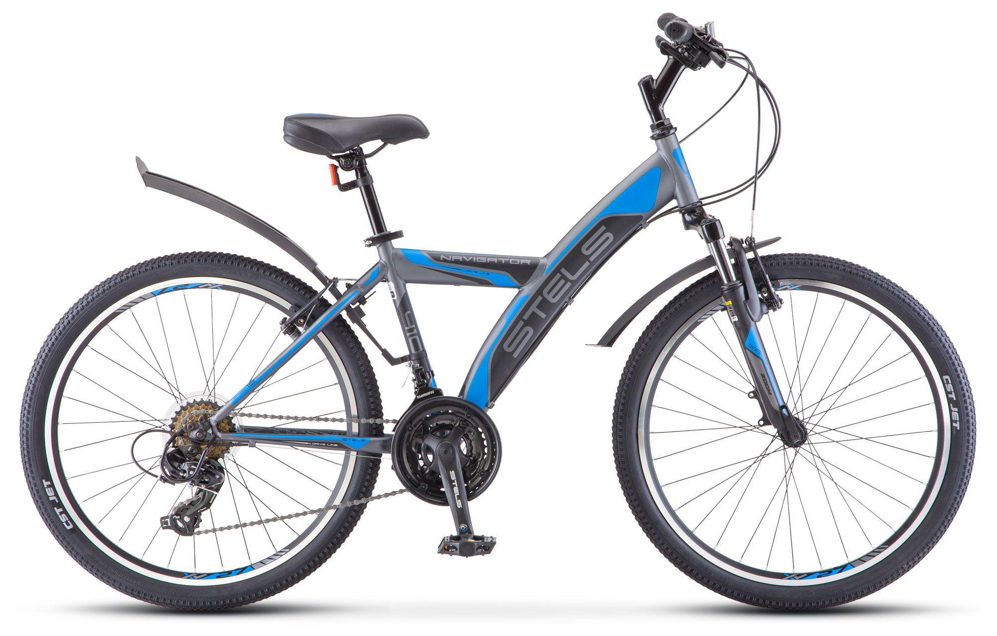 Велосипед Stels Navigator 410 V 24 18-sp (V030) 2018 велосипед stels navigator 410 v 21 sp 2017