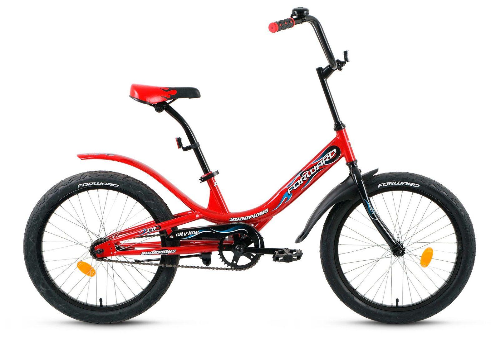 Велосипед Forward Scorpions 1.0 2018 citilux спот citilux винон cl519524 puxp z2q