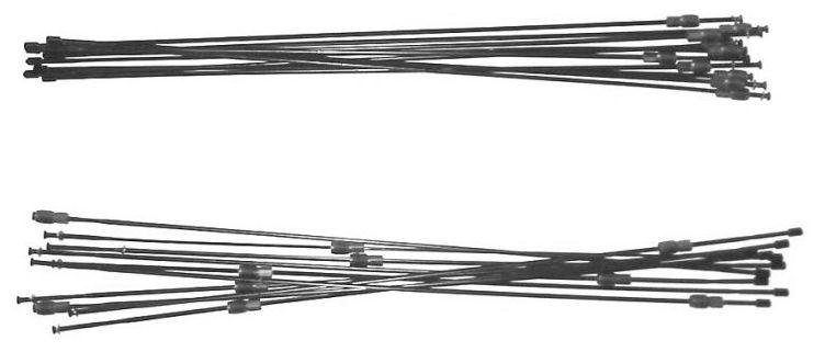 Запчасть Shimano WH-MT66-R12/R-29, задн. (306ммX28шт.) запчасть shimano ось в сборе для wh rs330 r 141 мм 5 9 16