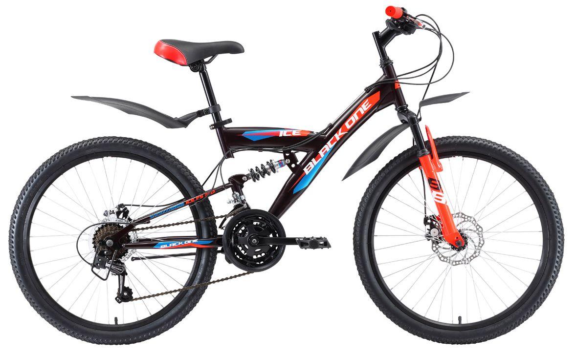 Велосипед Black One Ice FS 24 D 2018 black one велосипед black one ice girl 24 2017 бело розовый 13