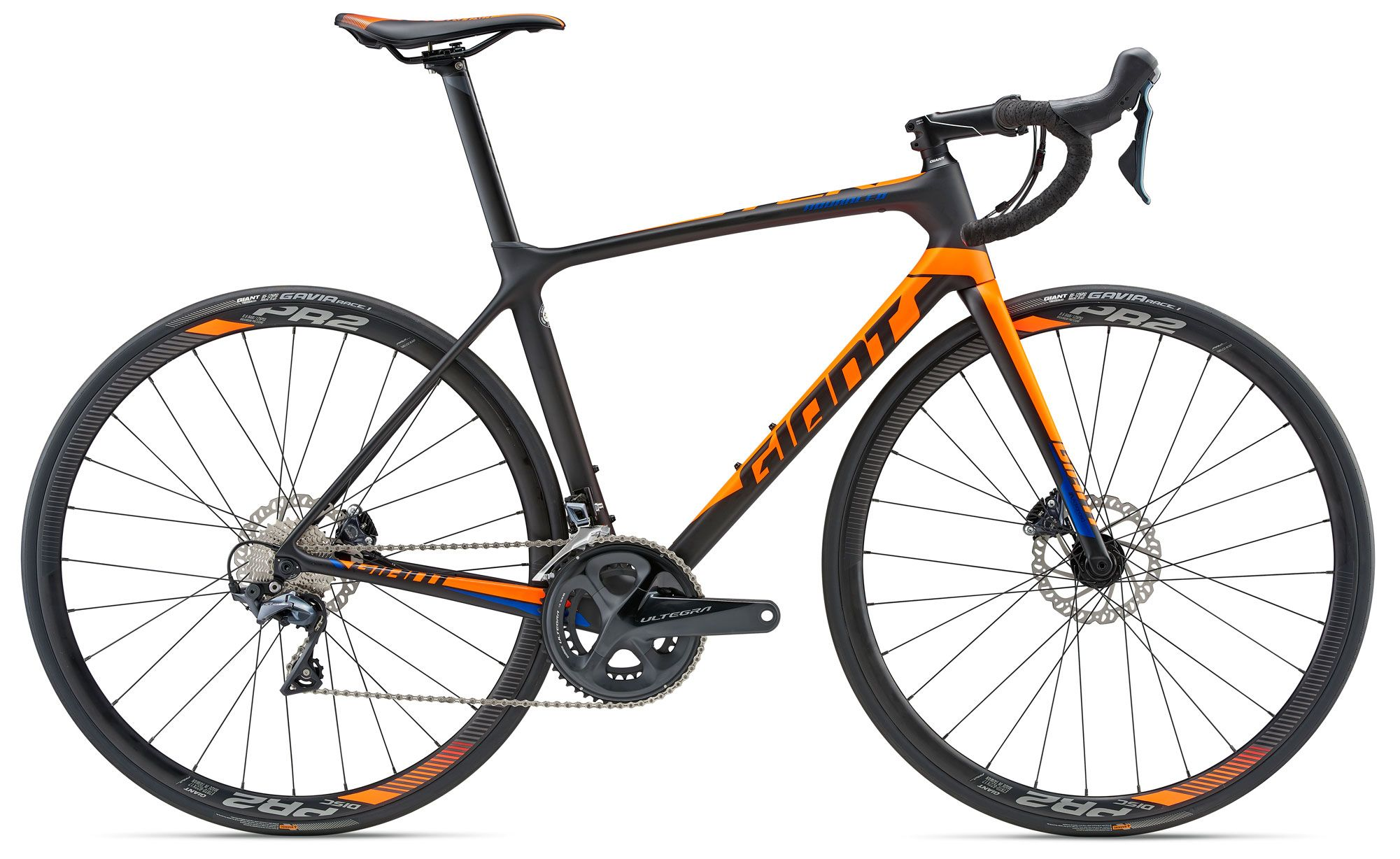 Велосипед Giant TCR Advanced 1 Disc 2018 giant escape 1 disc 2015