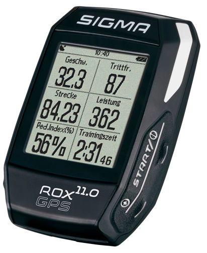 Аксессуар SIGMA ROX 11.0 GPS Black Set,  велокомпьютеры  - артикул:282618