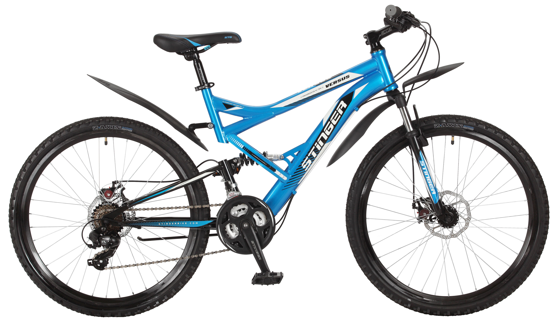 Велосипед Stinger Versus D 26 2017 велосипед stinger versus d 26 20 2015 х60866 к blue black