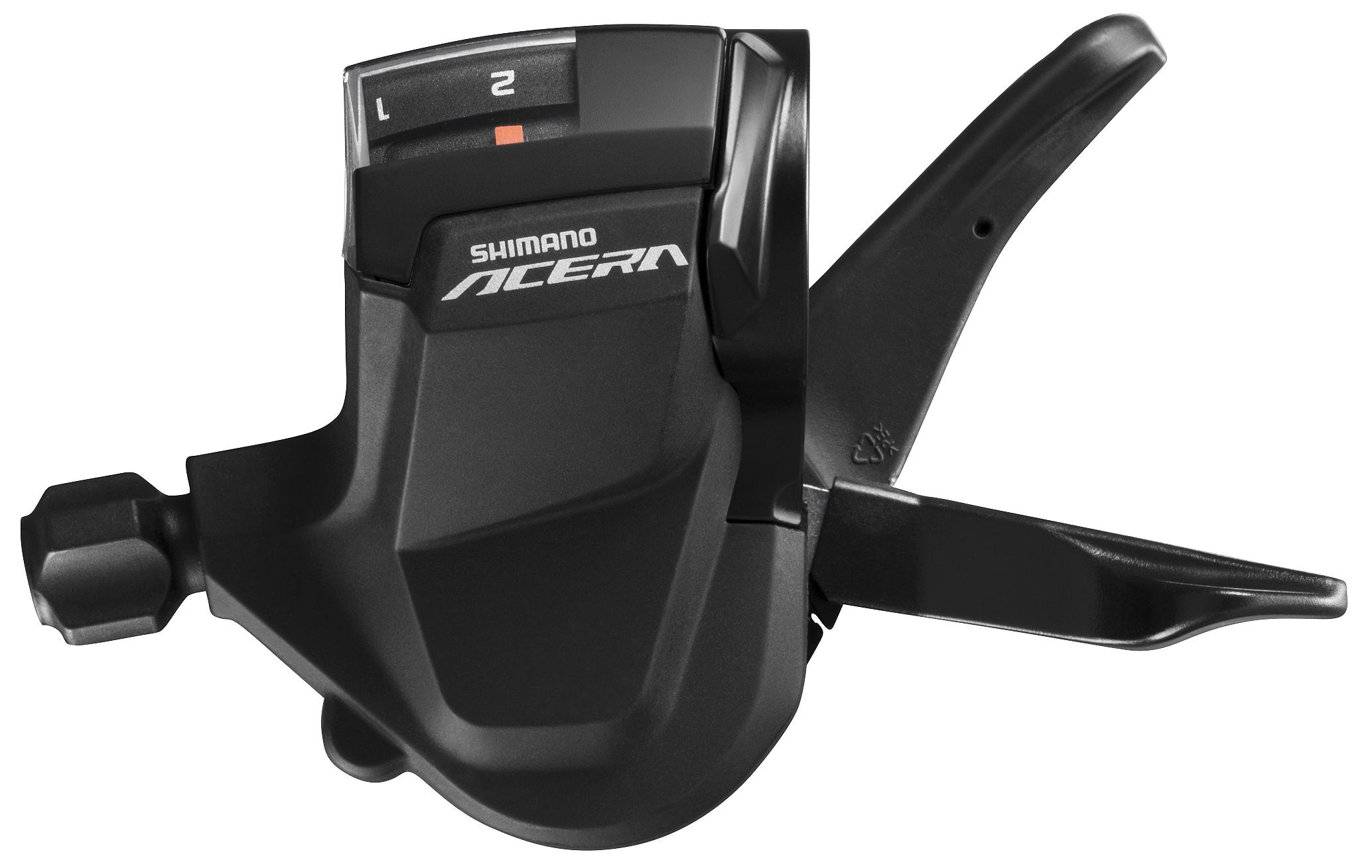 Запчасть Shimano Acera M3010, лев, 2ск (ESLM3010LB) шифтер shimano acera m3010 левый 2 скорости трос 1800 мм eslm3010lb