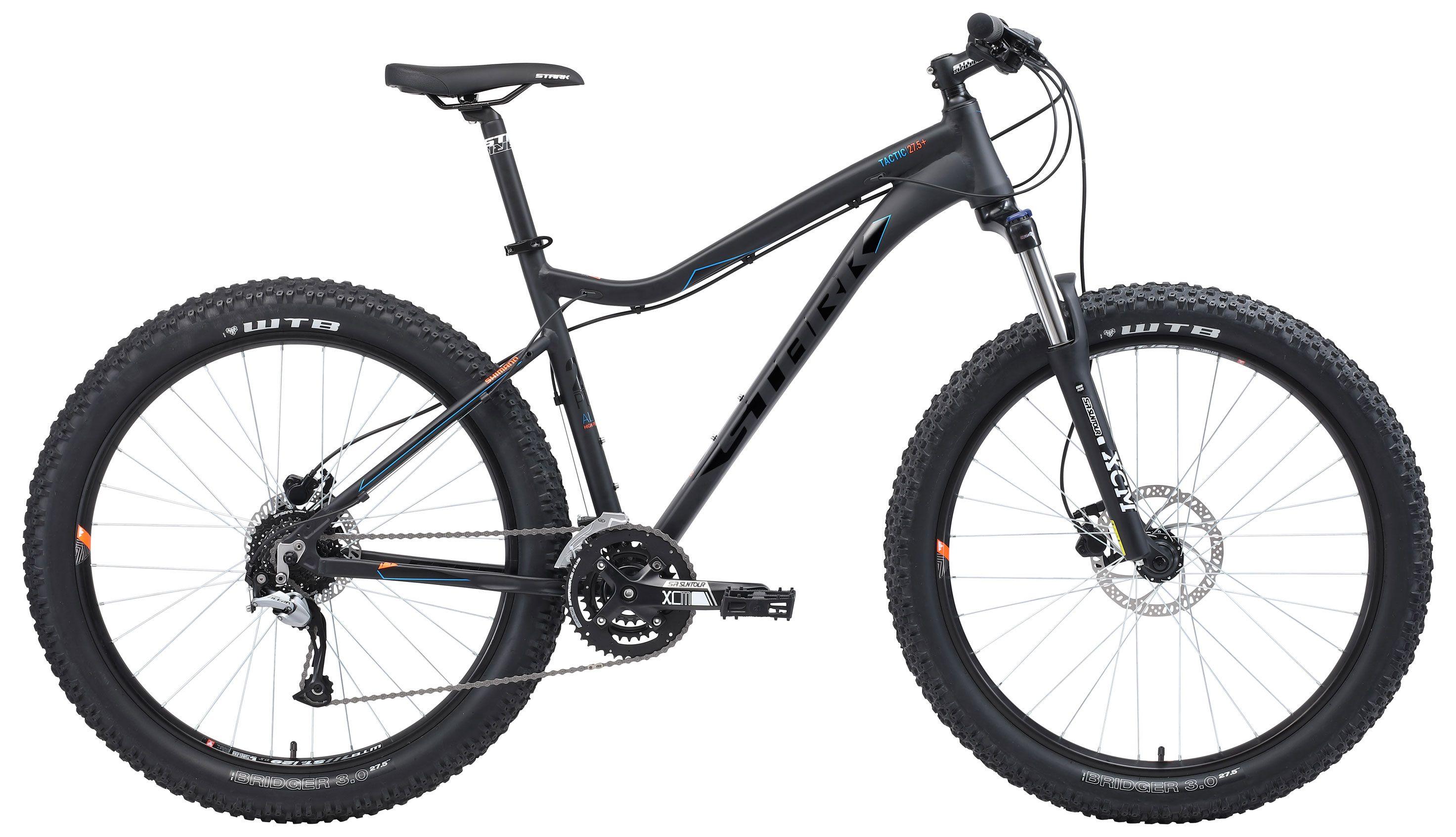 Велосипед Stark Tactic 27.5 + HD 2018 велосипед stark hunter 29 2 hd 2019
