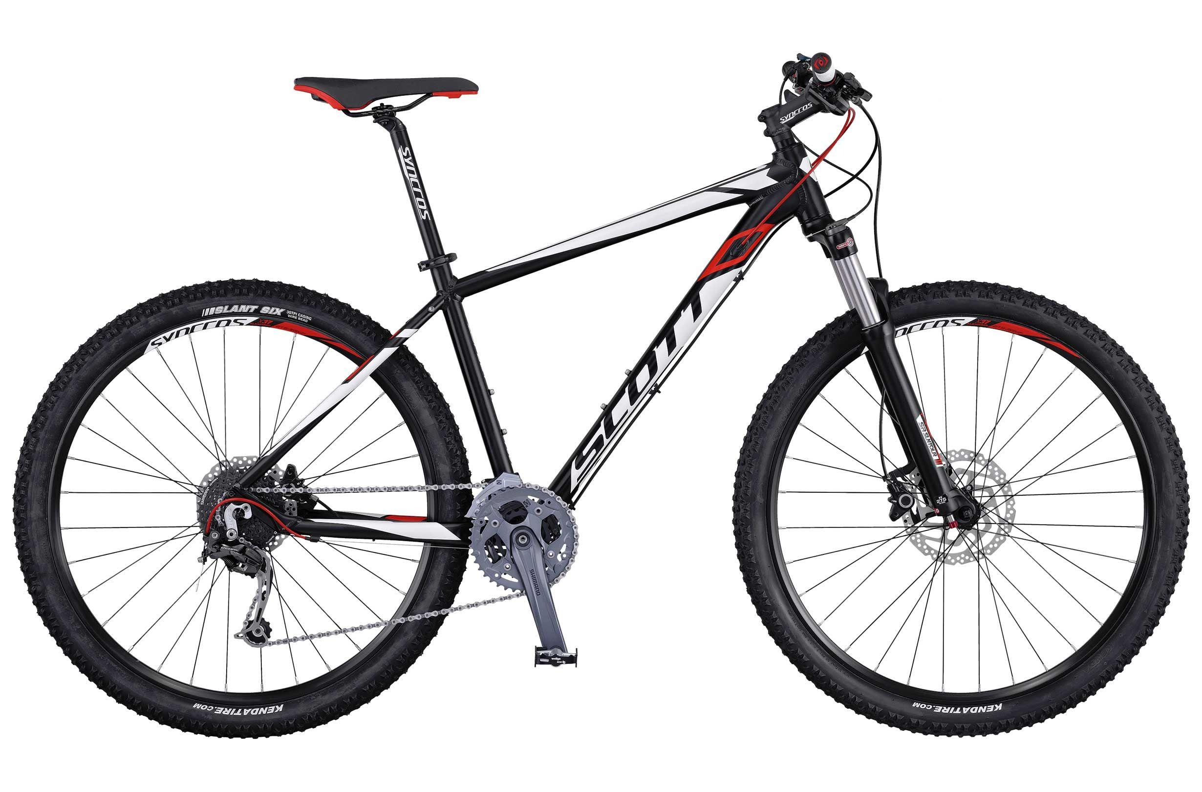 Велосипед ScottГорные<br>Универсальный спортивный хардтейл Scott Aspect 730 предназначен для велосипедных прогулок как по городу, так и за его пределами. Рама Scott Aspect 730, изготовленная из сплава алюминия, значительно снизила общий вес модели не потеряв при этом в прочности. Дисковые тормоза Shimano BR-M355 обладают высокой мощностью и модуляцией. За амортизацию отвечает вилка Suntour XCR-RL-R, оснащенная выносной блокировкой хода. Надежная трансмиссия высокого уровня Shimano Deore порадует вас четкой и плавной работой.<br><br>year: 2016<br>пол: мужской<br>тип рамы: хардтейл<br>уровень оборудования: продвинутый<br>длина хода вилки: от 100 до 150 мм<br>блокировка амортизатора: да<br>рулевая колонка: GW 1SI110 OE integ.<br>вынос: Syncros M3.0 HL-D507A<br>руль: Syncros M3.0, ширина 720 мм, подъем 12 мм<br>передний тормоз: Shimano BR-M355, диаметр ротора 180 мм<br>задний тормоз: Shimano BR-M355, диаметр ротора 160 мм<br>цепь: KMC X9<br>система: Shimano FC-M4000, 40x30x22<br>каретка: Shimano BB-ES-300, Cartridge Type<br>ободья: Syncros X-37 Disc, 32H<br>передняя втулка: Formula CL51<br>задняя втулка: Shimano FH-RM 33-CL<br>передняя покрышка: Kenda Slant 6, 30TPI 27.5<br>задняя покрышка: Kenda Slant 6, 30TPI 27.5<br>седло: Syncros M2.5<br>кассета: Shimano CS-HG200-9, 11-34T<br>манетки: Shimano SL-M370-9R, R-ire plus<br>вес: 14.2 кг<br>рама: Aspect 700, алюминиевый сплав 6061<br>вилка: Suntour XCR-RL-R, Remote Lockout, ход 100 мм<br>тип заднего амортизатора: без амортизатора<br>цвет: белый<br>размер рамы: 22&amp;amp;quot;<br>материал рамы: алюминий<br>тип тормозов: дисковый гидравлический<br>диаметр колеса: 27.5<br>тип амортизированной вилки: пружинно-масляная<br>передний переключатель: Shimano FD-M3000<br>задний переключатель: Shimano Deore RD-M592<br>количество скоростей: 27