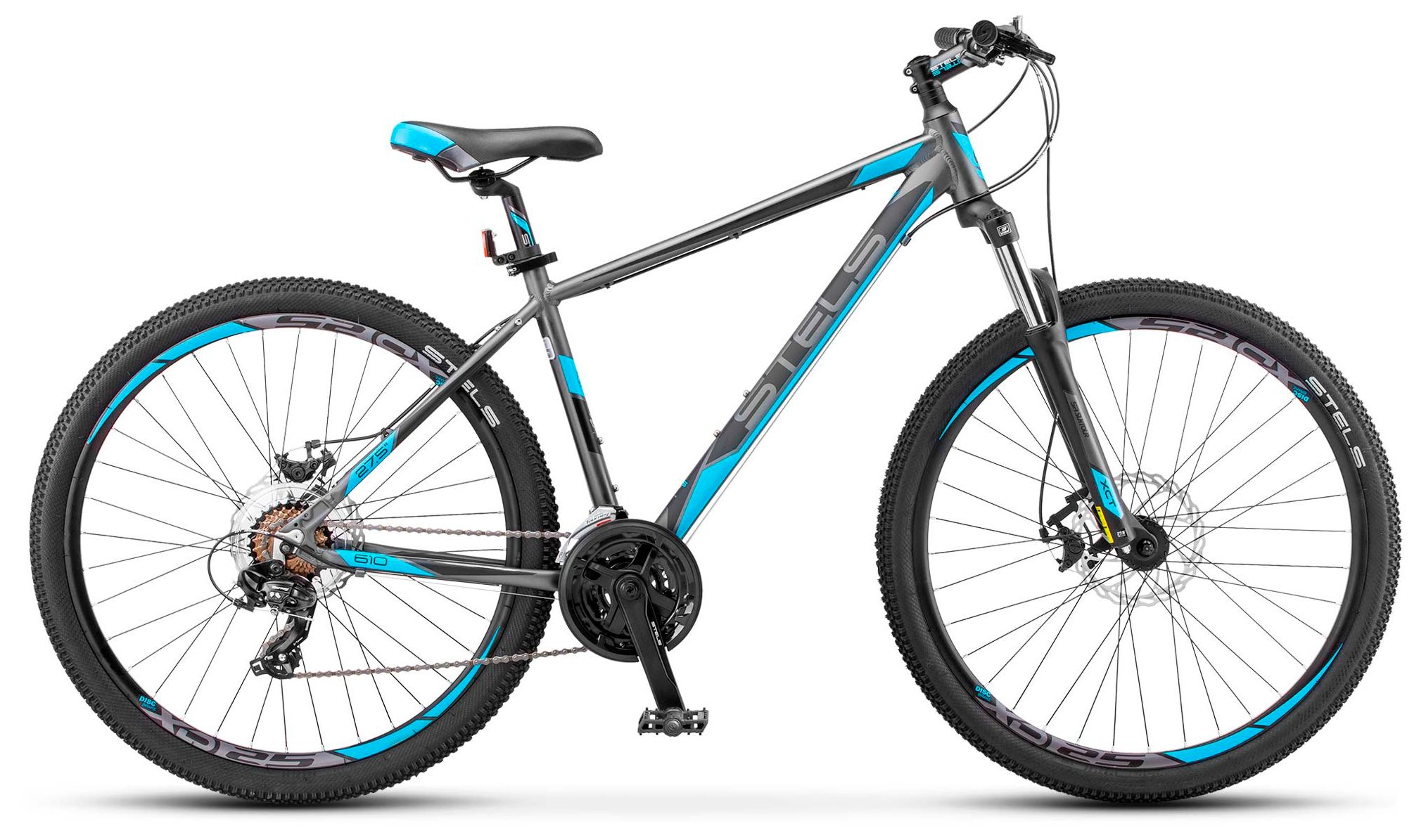 Велосипед Stels Navigator 610 MD 27.5 2017 велосипед stels navigator 310 2016
