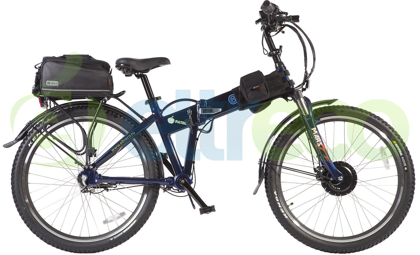 Велосипед Eltreco Patrol Cardan 28 Lux 2016,  Электро  - артикул:267898