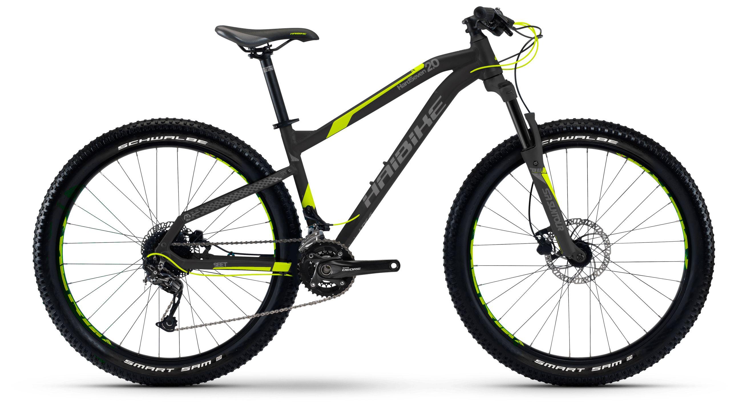 Велосипед Haibike Seet HardSeven Plus 2.0 2017,  Горные  - артикул:283648