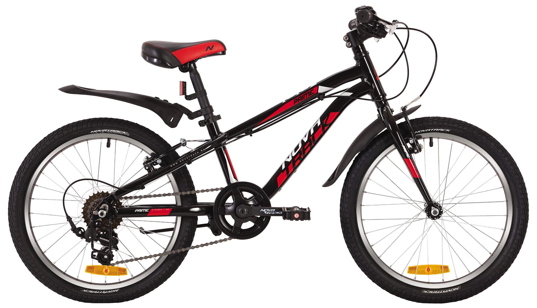 Велосипед Novatrack Prime 20 V 2019 велосипед novatrack 16 зебра бордово белый 165 zebra clr6