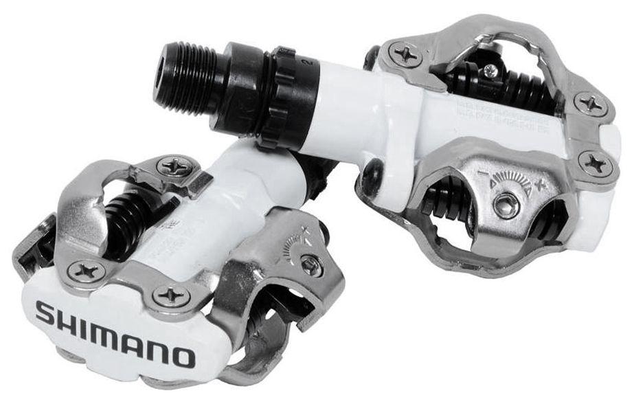 Запчасть Shimano M520W, SPD, с шипами (epdm520w) педали shimano t400 spd click r с шипами sh56 цвет белый