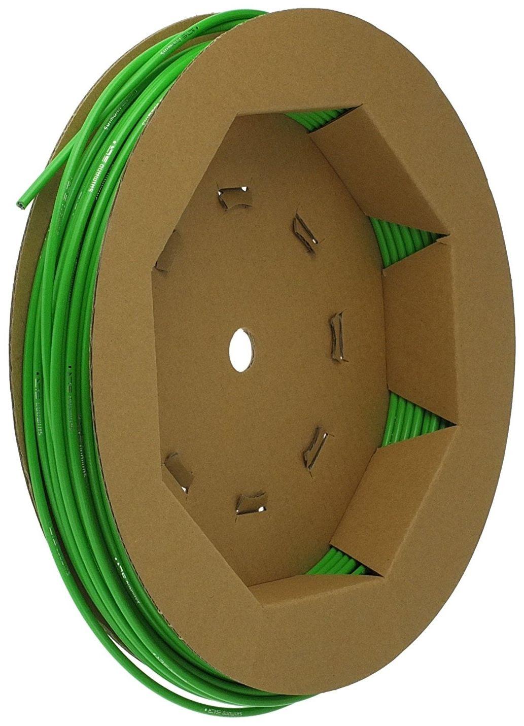 Запчасть Shimano оплетка троса тормоза SLR (Y80900019) оплетка тормоза shimano slr 40м в коробке цвет желтый y80900018
