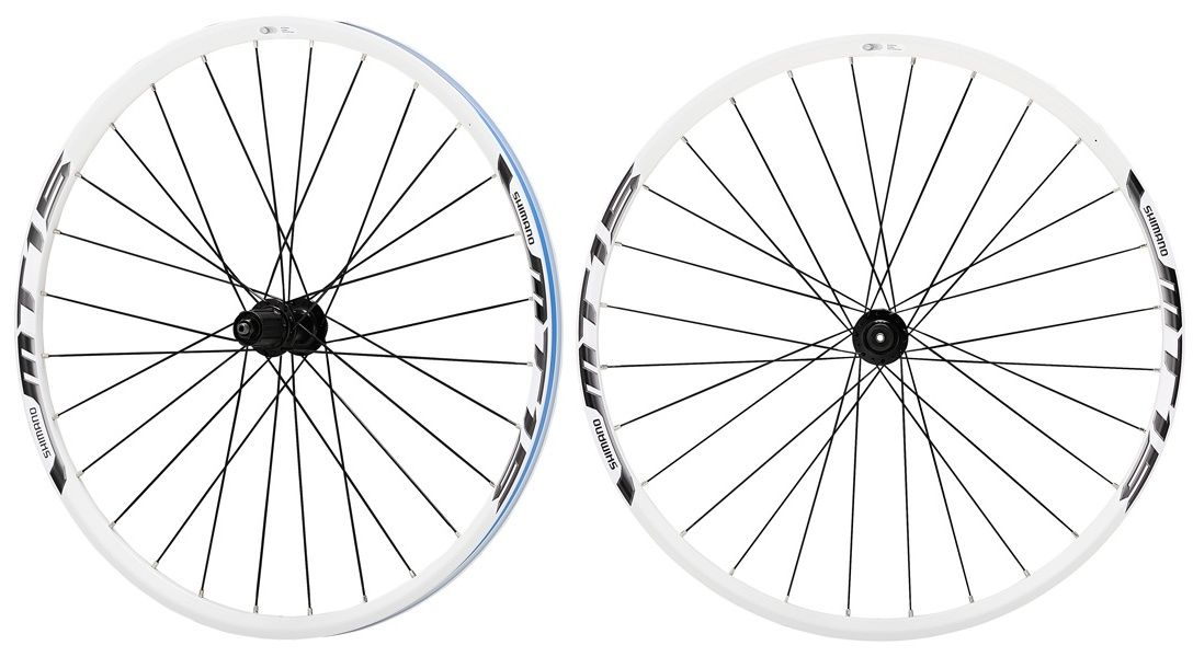 Запчасть Shimano MT15A (EWHMT15AFR9QC),  колеса в сборе  - артикул:286090