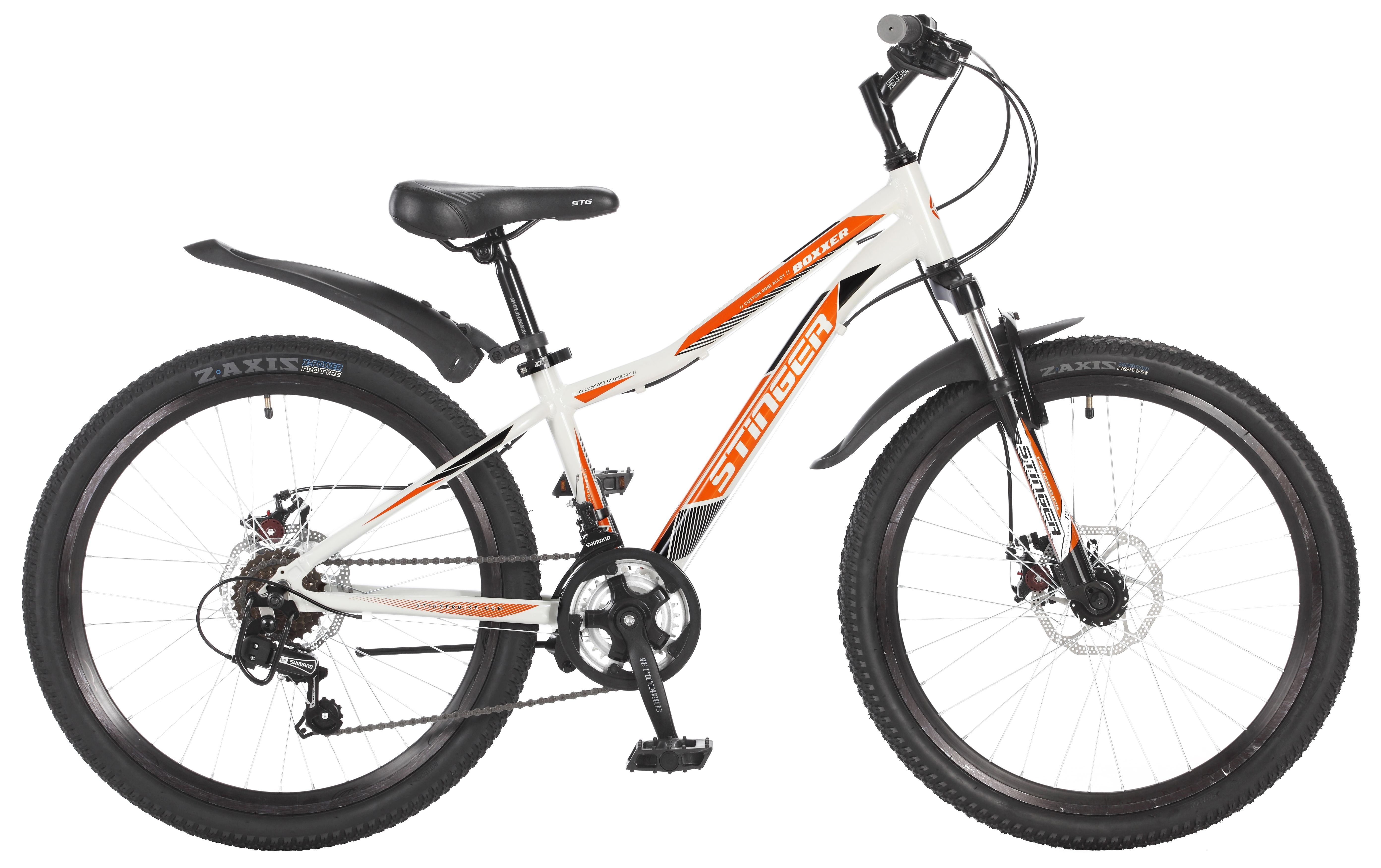Велосипед Stinger Boxxer D 24 2017 велосипед stinger galaxy 24 2016