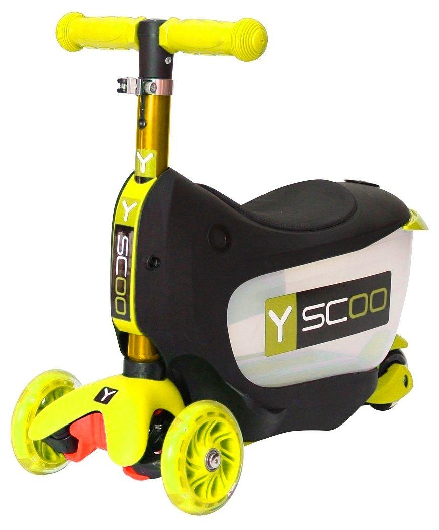 Y-Scoo Mini Jump со светящимися колесами